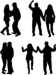 Dancing Silhouette- Illustration