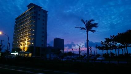 Okinawa's sunset
