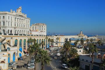 Fotorolgordijn Algerije Alger la blanche, Algérie