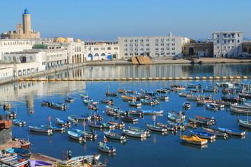 Foto op Aluminium Algerije Port de pêche d'Alger, Algérie