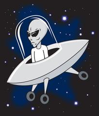 Alien in Ship