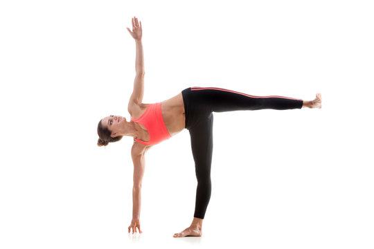 Yoga Pose Ardha Chandrasana