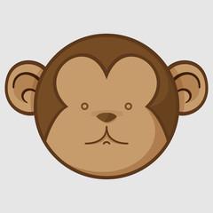 Cute Monkey Face