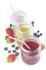 Chilled smoothies