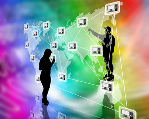 connection of the world