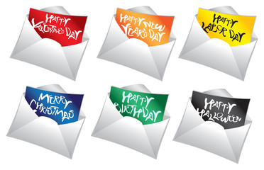 Mails with holiday messages