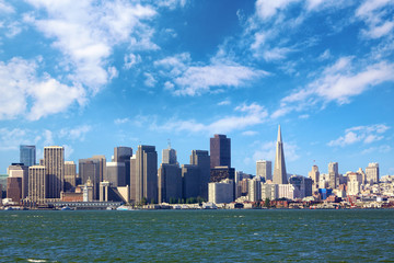 San Francisco skyline, California, US