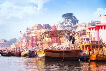 Ghat at Ganga river, Varanasi, India