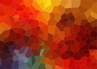 Abstract 2D mosaic colorful background