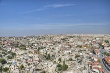 Panorama of Cappadocia from Ortahisar castle