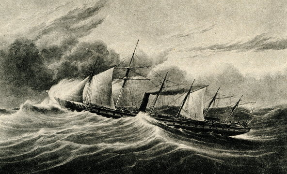 SS Great Britain, 1843