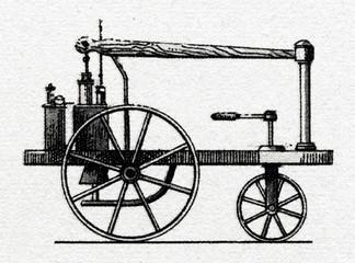 William Murdoch's Steam Carriage, 1785