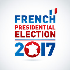 2017 French presidential election poster