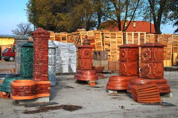 Storage of various materials