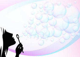 create bubbles