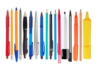 Fototapeta Pens and pencils obraz