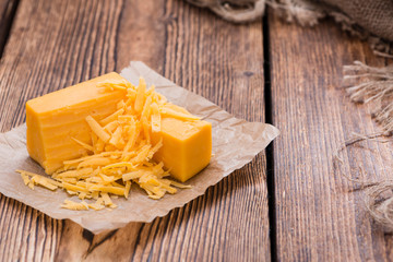 Cheddar Cheese (grated)