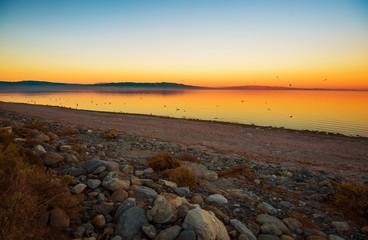 Wall Mural - Scenic Salton Sea Sunset