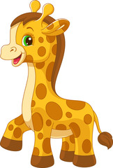 Little giraffe toy