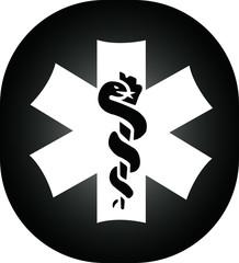 Symbol metal black