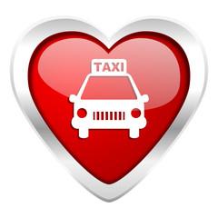 taxi valentine icon