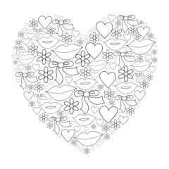 Векторное сердце