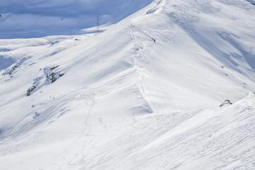 Berge Wintersport