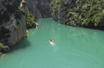Gorges du Verdon (Provence, France) at summer