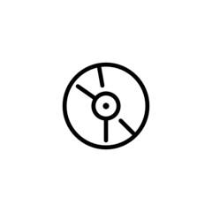 CD Trendy Thin Line Icon
