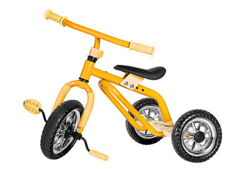 Kids yellow tricycle