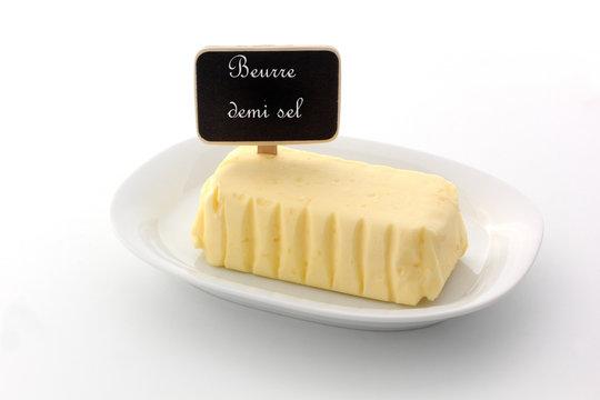 beurre demi sel