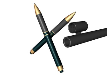 Pennen stoppen geweld