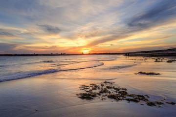 Sunset Greenhills Beach, Australia