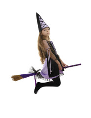Witch Girl Flying