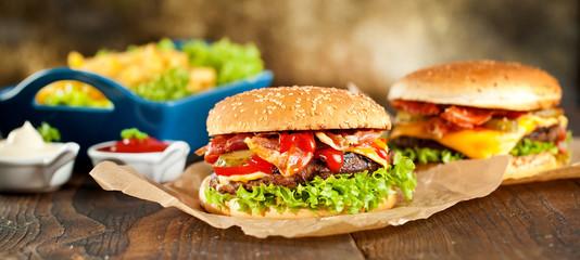 Fototapeta Burger obraz