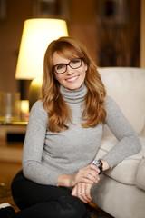 Fashion designer woman portrait