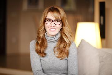 Casual business woman portrait