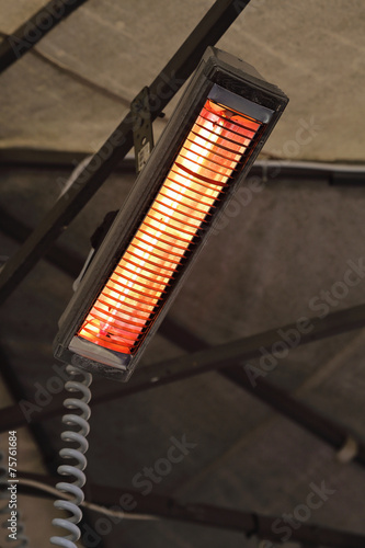 Lampe Chauffante Terrasse Cafe Stock Photo And Royalty Free Images