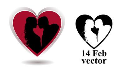 bacio dentro al cuore