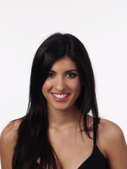 Smiling Portrait Woman Of Middle Eastern Ethnicity
