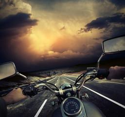 Foto op Plexiglas Fiets Motorcycle