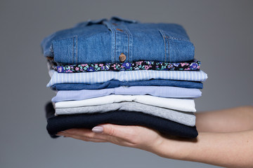 Perfect ironed female clothes