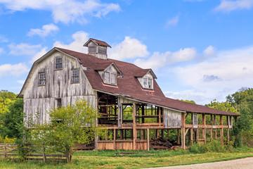Old Interesting Barn