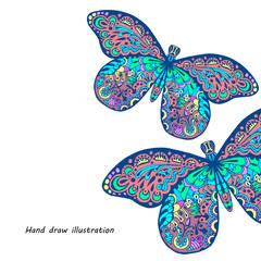 pattern of butterfly
