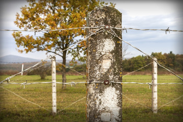 Grenze Zaun © Matthias Buehner