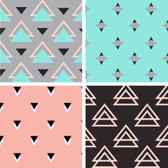 Tribal pattern set. Four different patterns