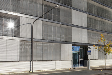 Gebäude Sonne Fassade