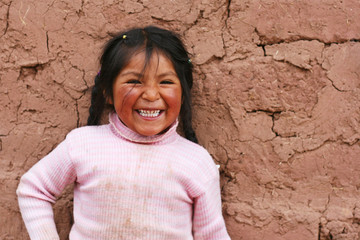 little peruvian laughing