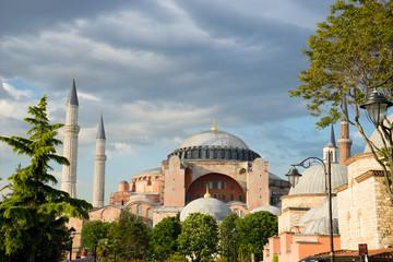 Hagia Sophia, sultan ahmed blue mosque, Istanbul Turkey