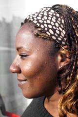 African lady portrait